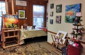 Art Studio in Hudson, Interior, South Wall