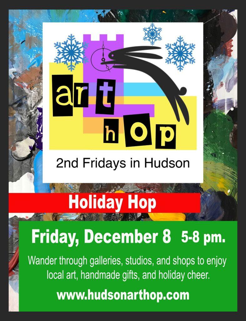 2017 holiday hop on December 8 in Hudson