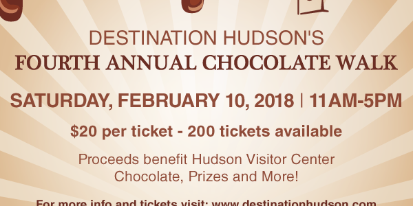 Get Your Passport For The Chocolate Walk!
