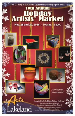 Holiday Artists Market, Lakeland Community College, Kirtland, OH