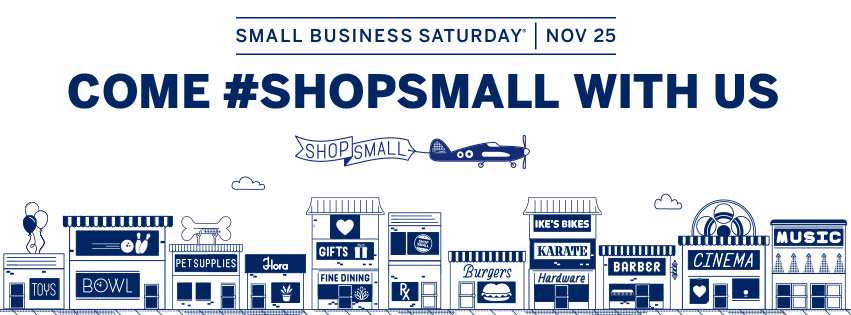 Shop Small on November 25, 2017