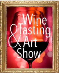 Art and wine show at Viva Bene Gourmet