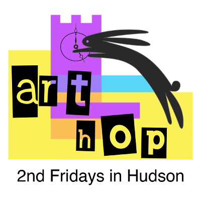 2nd friday art hop in Hudson ohio