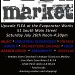 Flea Market at the Evaporator Works, Hudson OH