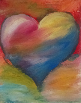 Floating Heart, BYOB Painting Party