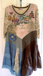 Ladies Night, Linda Ackerman, Paper Rose Design-Altered Couture