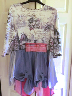 Ladies Night, Linda Ackerman, Paper Rose Design-Altered Couture