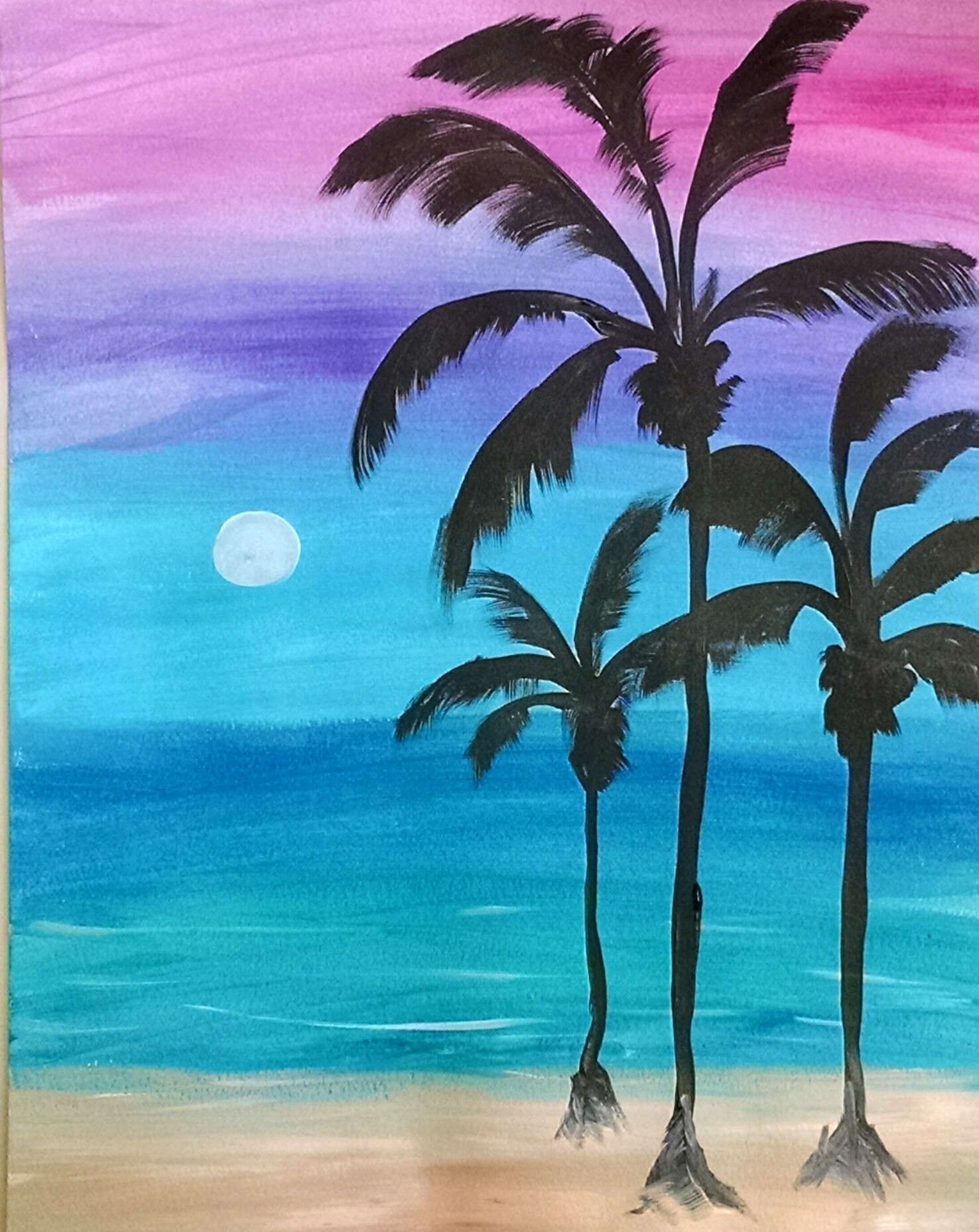 Moon Rise In Cabo, by Karen Koch, Life Needs Art
