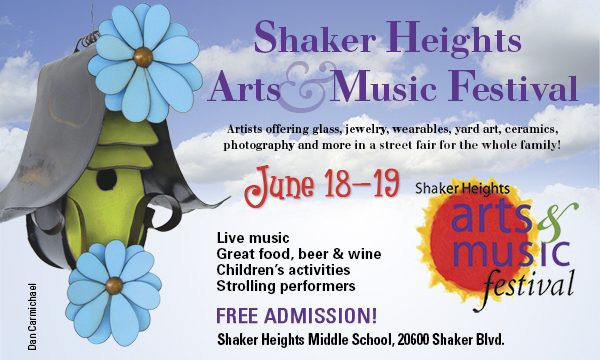 Shaker Heights Arts and Music Festival Info