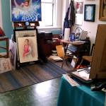 Art Studio of Shannon Casey, at Uncommon Art