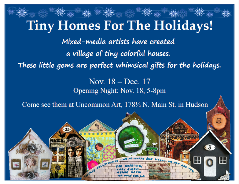 Tiny Homes For The Holidays